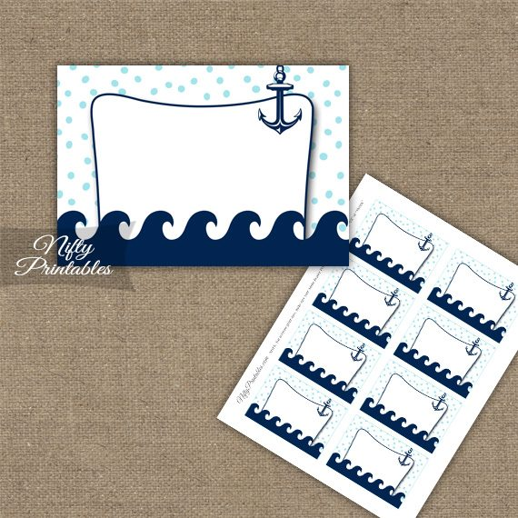 Labels - Aqua Nautical