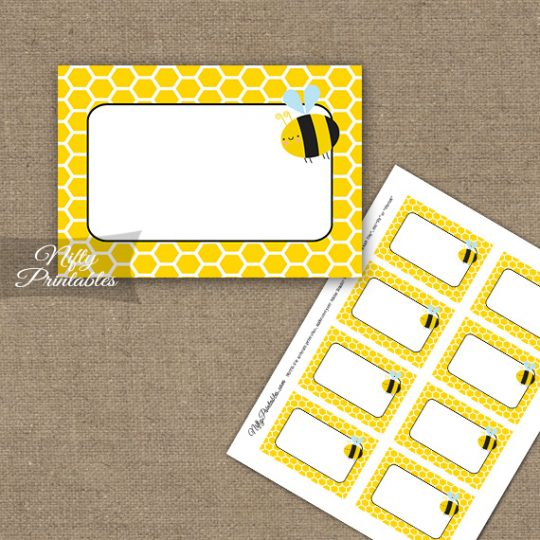 Labels - Bumble Bee