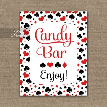 Candy Buffet Sign - Casino Las Vegas
