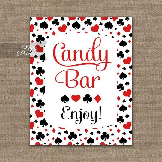Candy Buffet Sign - Casino Las Vegas