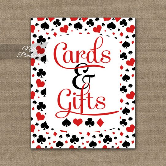 Cards & Gifts Sign - Casino Las Vegas