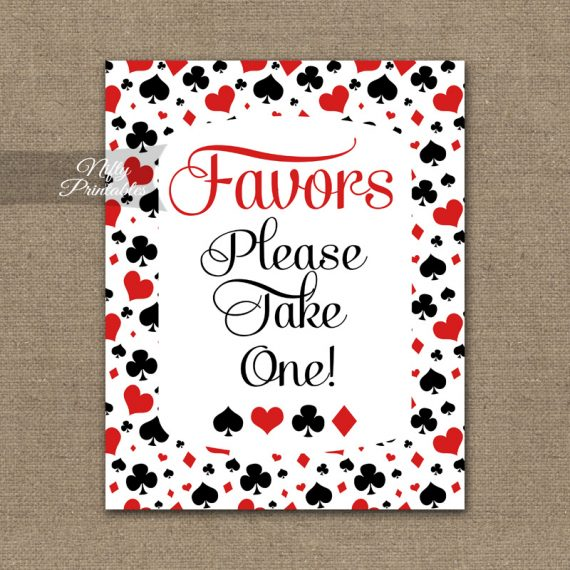 Favors Sign - Casino Las Vegas