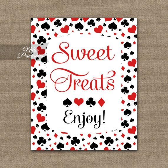 Sweet Treats Dessert Sign - Casino Las Vegas