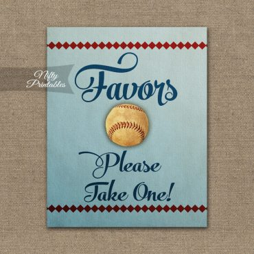 Favors Sign - Baseball