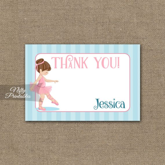 1st Birthday Invitation - Ballerina Tutu Invitation