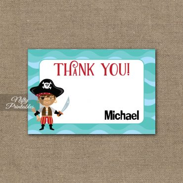 9th Birthday Invitation - Pirate Birthday Invitations