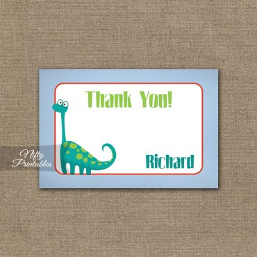 Dinosaur Birthday Invitation - Dino Birthday Party