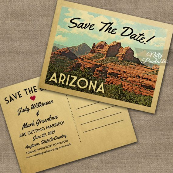 Arizona Save The Date PRINTED
