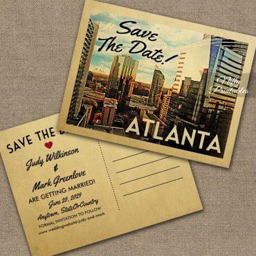 Atlanta Save The Date PRINTED