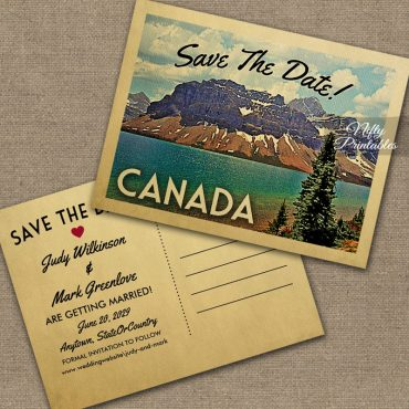 Canada Save The Date PRINTED
