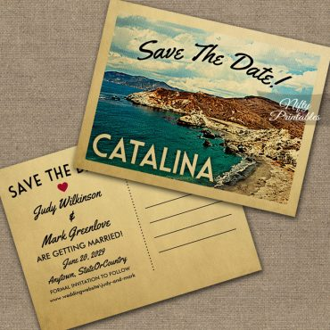 Catalina Save The Date PRINTED