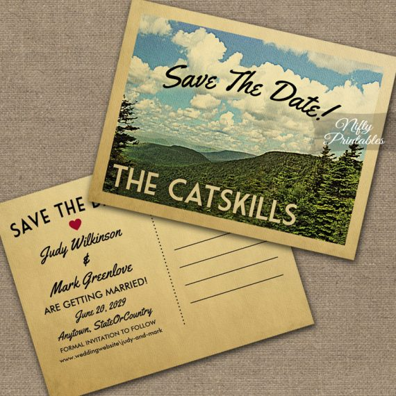 Catskills Save The Date PRINTED