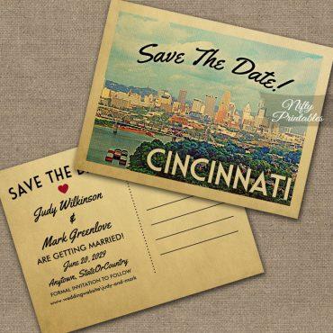 Cincinnati Save The Date PRINTED