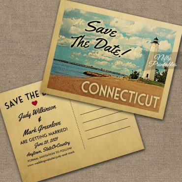 Connecticut Save The Date PRINTED