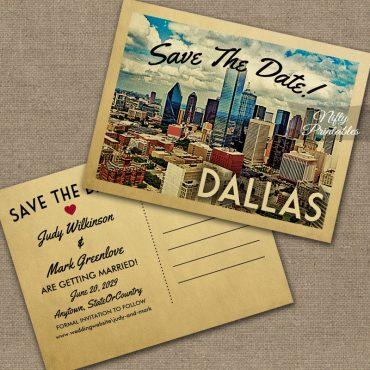 Dallas Save The Date PRINTED
