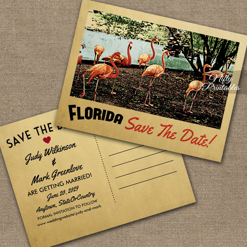 Florida Save The Date PRINTED