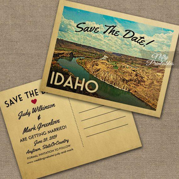 Idaho Save The Date PRINTED