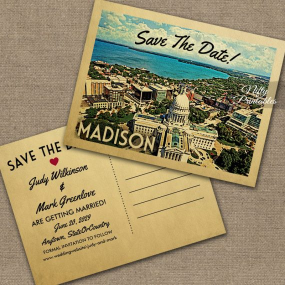 Madison Save The Date PRINTED