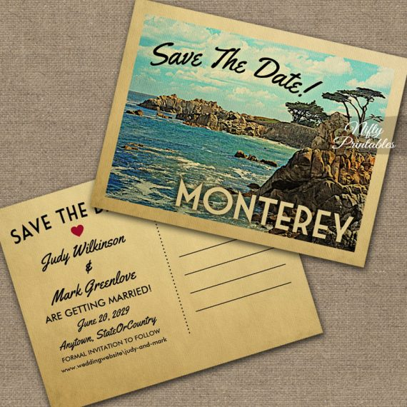 Monterey Save The Date PRINTED