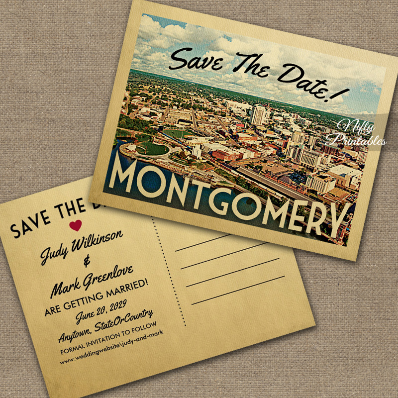 Montgomery Save The Date PRINTED