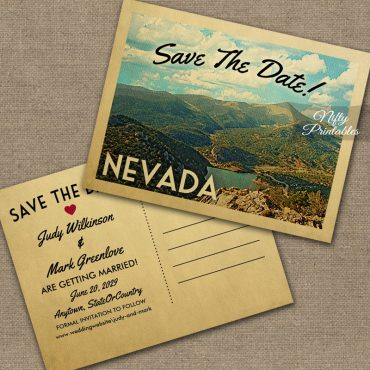 Nevada Save The Date PRINTED