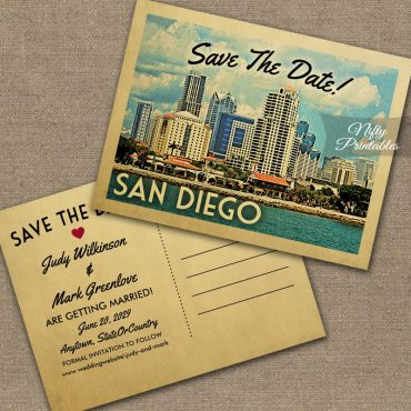 San Diego Save The Date PRINTED