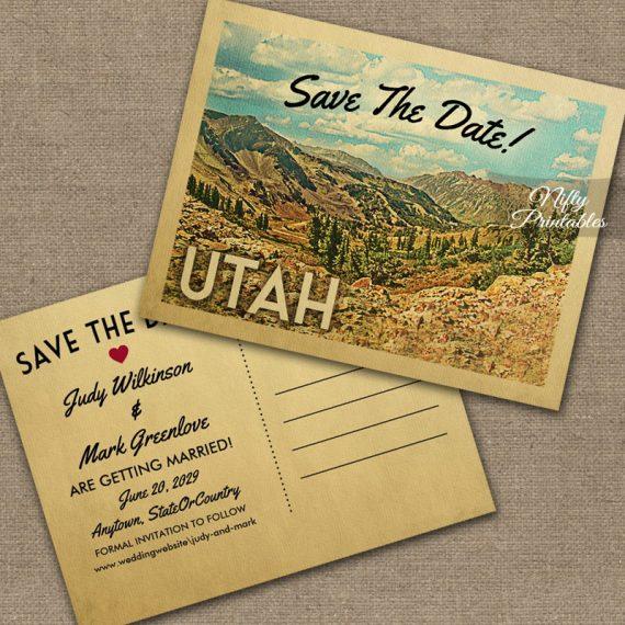 Utah Save The Date PRINTED