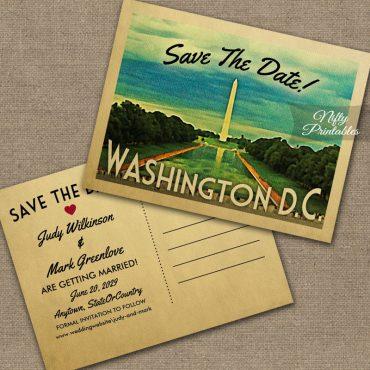 Washington Save The Date PRINTED