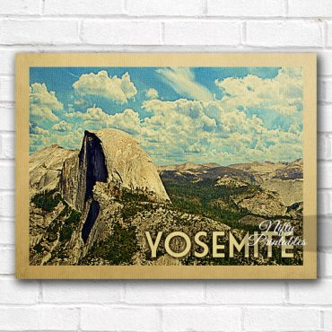 Yosemite Vintage Travel Poster