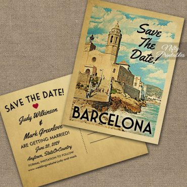 Barcelona Save The Date PRINTED