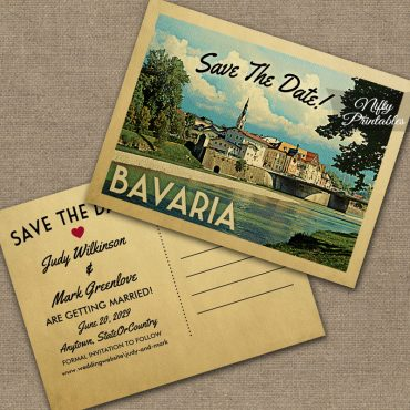 Bavaria Save The Date PRINTED