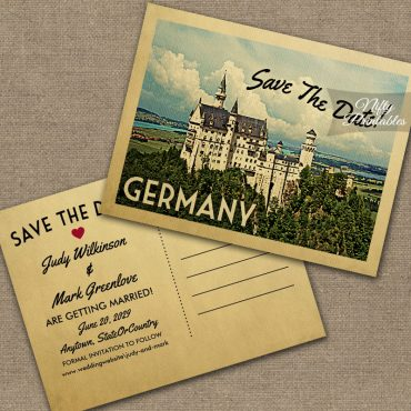 Germany Save The Date PRINTED