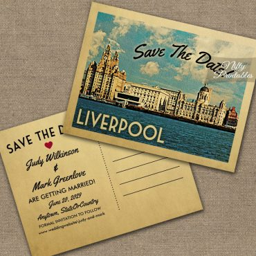Liverpool Save The Date PRINTED