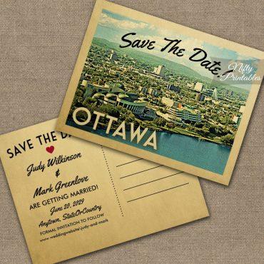 Ottawa Save The Date PRINTED