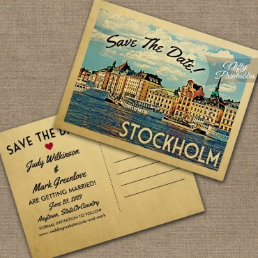 Stockholm Save The Date PRINTED