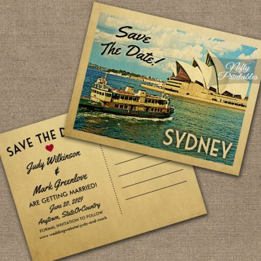 Sydney Save The Date PRINTED