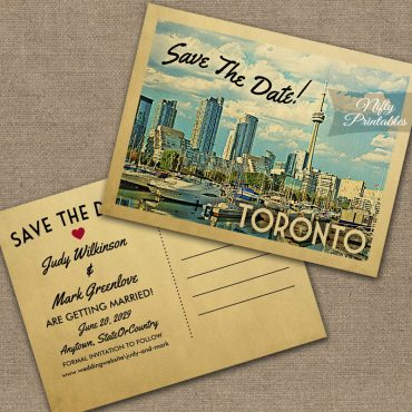 Toronto Save The Date PRINTED
