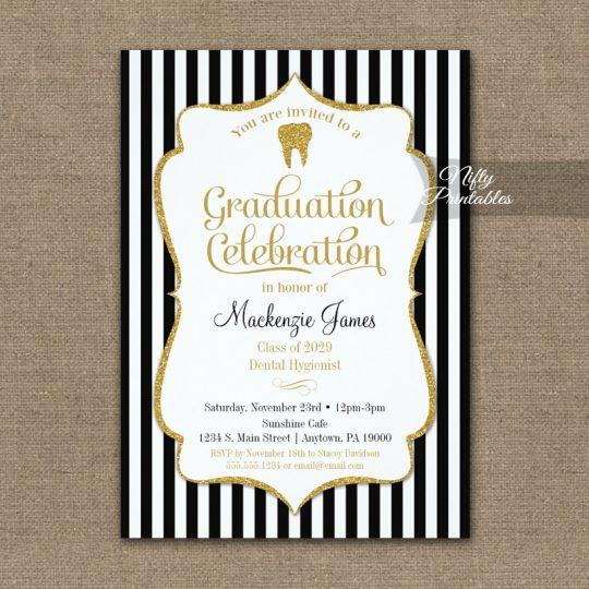 Dental School Graduation Party Invitations PRINTED