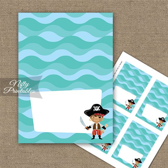 Pirate Tent Cards - Place Cards