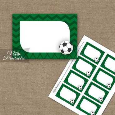 Soccer Birthday Blank Labels