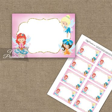 Fairies Fairy Party Birthday Blank Labels