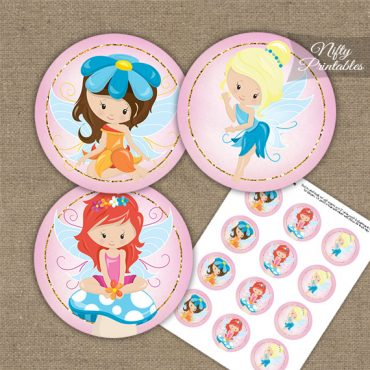 Fairies Fairy Party Birthday Cupcake Toppers