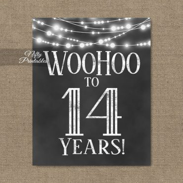 14th birthday party invitations decorations fourteen years old