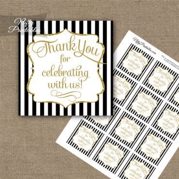 Adult Thank You Favor Tags