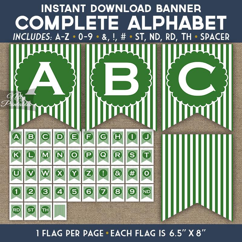Alphabet Party Banner