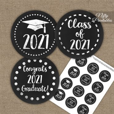 Nutritionist Graduation Party Invitations Red Blue Chalkboard PRINTED