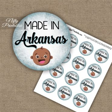 Arkansas Black Baby - Blue Cupcake Toppers