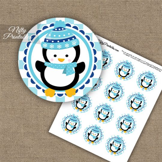 Penguin Cupcake Toppers